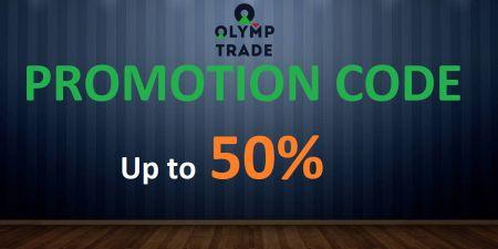 Olymp Trade Code Code - حداکثر 50٪ پاداش