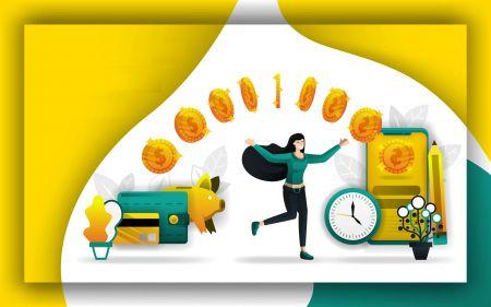 نحوه برداشت و واریز پول در Olymp Trade